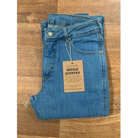 03fc98aaa02ec Calça Jeans Estilo Country - Calças Jeans no Mercado Livre Brasil