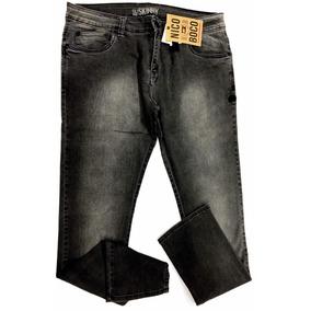 edccd306ee6 Calça Jeans Masculina Nicoboco Skinny Com Lycra Cós Normal
