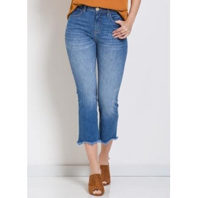 73ddceaa1 Calça Jeans Colcci Fem Alessandra Ambrosio - Calças Pit Bull Calças ...
