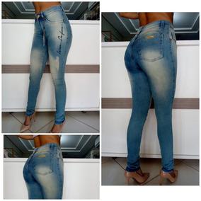 0c67c9b15 Calca Morena Rosa - Calças Jeans Feminino no Mercado Livre Brasil