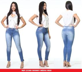 e6e66d5c4 Calça Jeans Com Lycra Feminino 46 Biotipo - Calçados, Roupas e ...