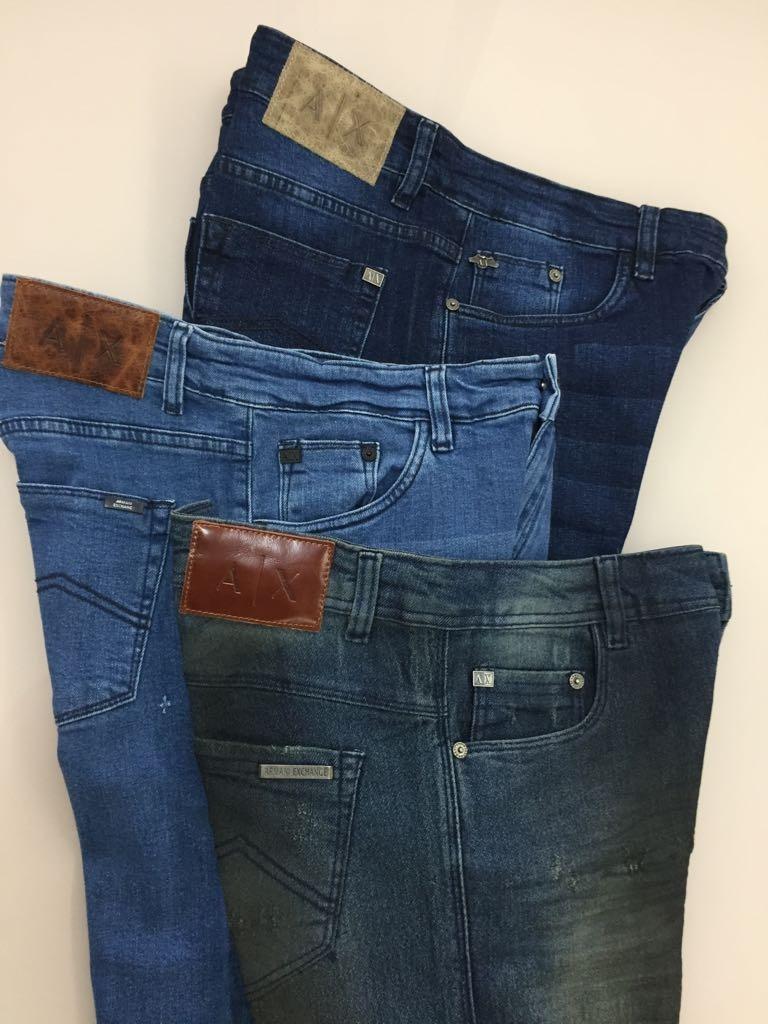 Calças Jeans De Eslin Da Empório Armani De Milão Da Itália - R  230 ... 55d123d44af21