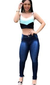 d3156fb4e L Minas Gerais Calcas Baratas Cintura Alta - Calças Jeans Feminino ...