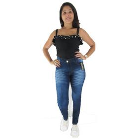 Calças Jeans Com Lycra Feminina Kit 10 Peças Atacado 38 A 44