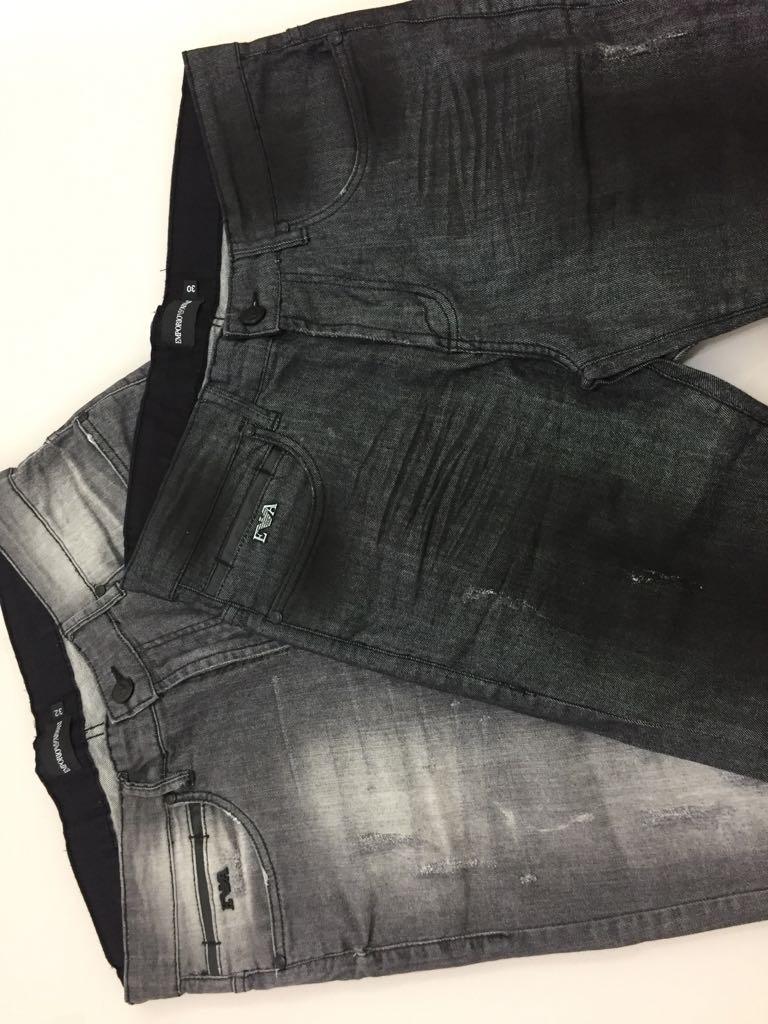 calças jeans de eslin da empório armani de milão da itália. Carregando zoom. f356ac292b460