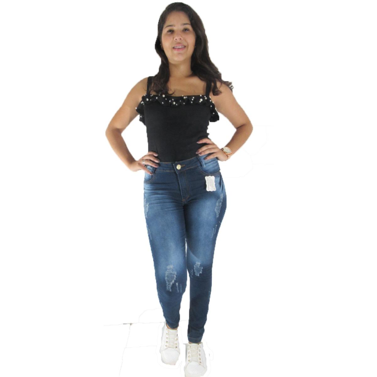 f4f4b693d84cb calças jeans feminina atacado kit 30 peças super promoção. Carregando zoom.