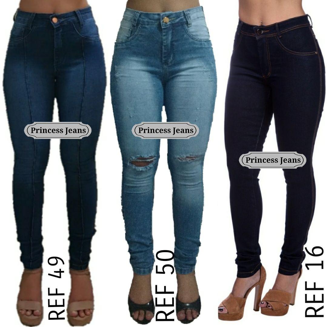 b47d0e434 calças jeans feminina cintura alta hot pants atacado. Carregando zoom.