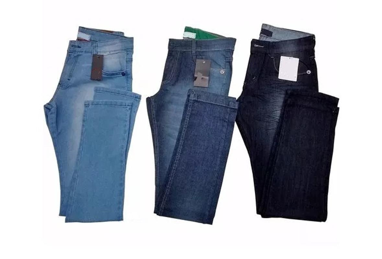 b05cd533a2d3e calças jeans masculina elastano kit c 5 atacado revenda. Carregando zoom.