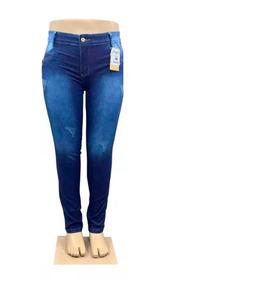 9c3a6c2ad Calça Jeans Feminina Com Lycra Cintura Alta Plus Size - Calçados, Roupas e  Bolsas no Mercado Livre Brasil