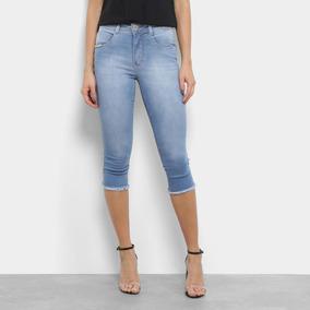 3ecc0f171 Cal A Jeans Rasgada Cintura Alta Da Biotipo - Calças Jeans Feminino ...