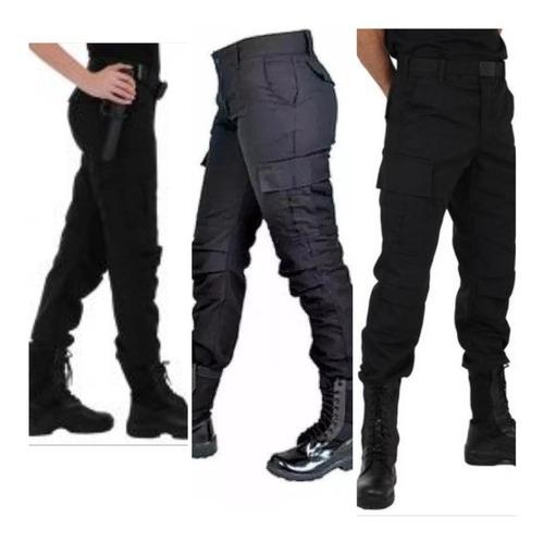 calças rip-stop aconchoado no joelho