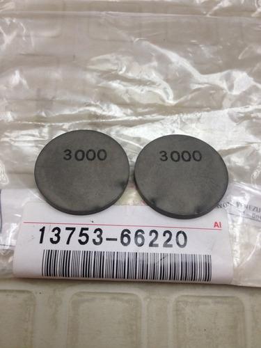 calce ajuste válvula 3.00 toyota machito/autana/burbuja orig