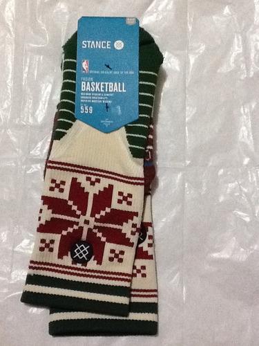 calceta basketball stance mediana crew navidad