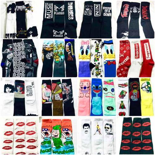 calceta larga 20 paquetes con 3 pares c/u envío gratis