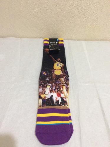 calcetas stance james worthy lakers basketball leyenda