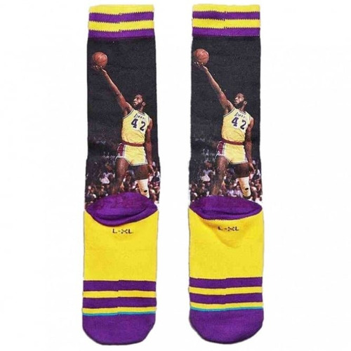 calcetas stance james worthy lakers basketball leyenda