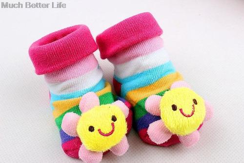 calcetín de goma de bebe