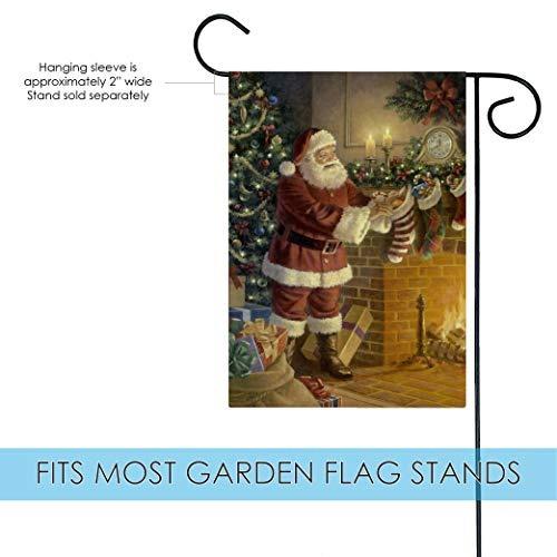 calcetín de toland hogar stuffer jardín bandera de jardín ja