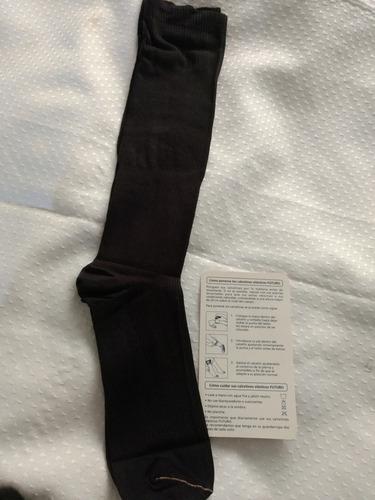 calcetín elástico futuro compresión firme y moderada 6x $300