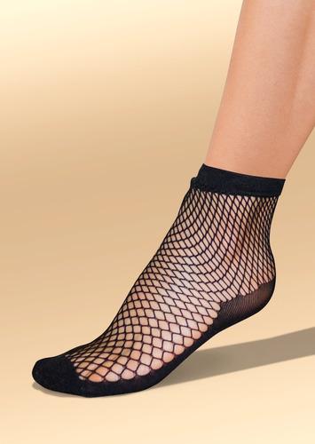 calcetín / medias negro 1423716