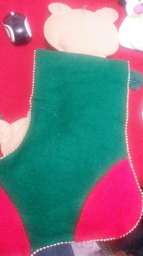 calcetín navideño decorativo