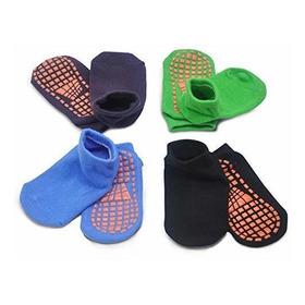 Calcetines Antideslizantes Para Niños Trampolin Calcetines