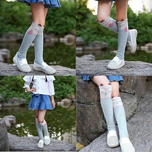 calcetines cismark dibujos animados algodón algodón rodill