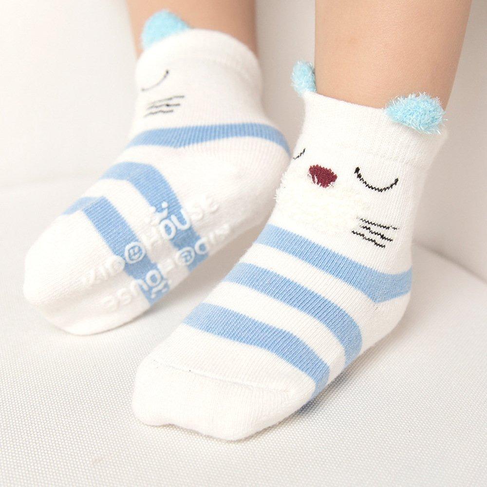 Calcetines De Bebé Para Niñas Pequeñas, Niño, Animales, R - S/ 226 ...