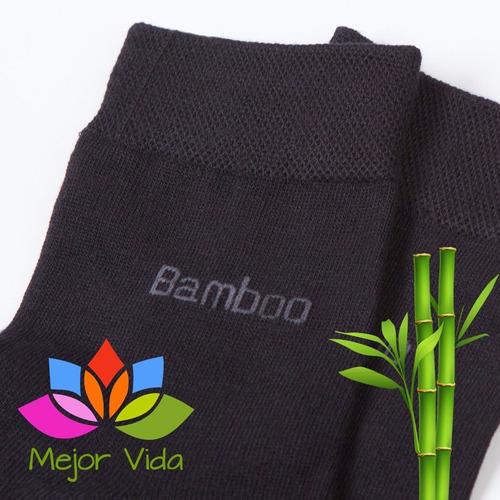 calcetines de fibra de bambu importados - calcetas bamboo