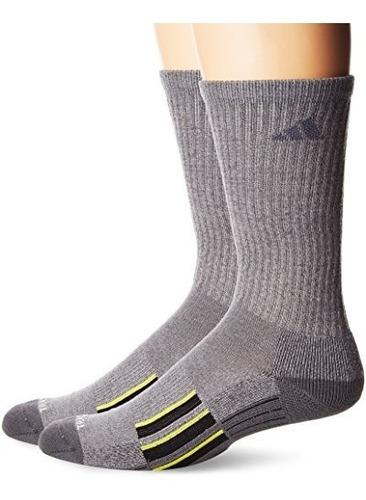 calcetines de medios cana adidas climalite x ii 2 pares para