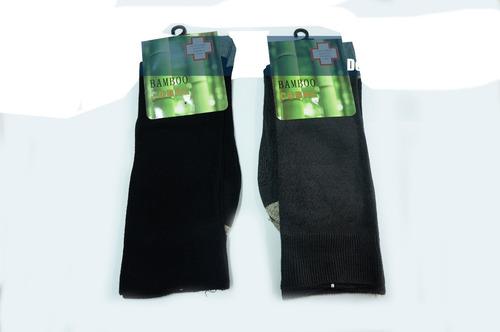 calcetines de vestir de cobre con bambú 6 pares x