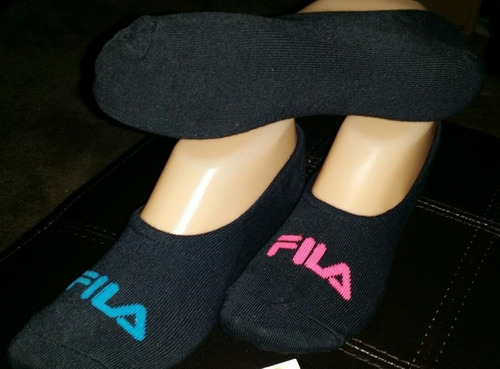 calcetines fila ultra low invisible 4 pares tallas 21-27