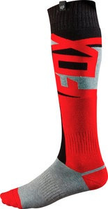 calcetines fox racing fri vandal 2015 mx/off. finos rojo sm