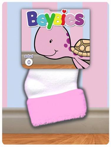calcetines medias recien nacido beybies (4 pares)