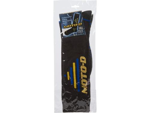 calcetines moto-d warm para motocicleta (paquete de 3)