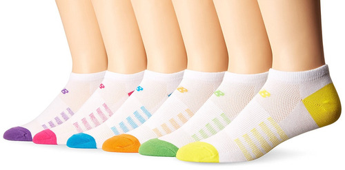 calcetines no show de new balance women's arch support (p...