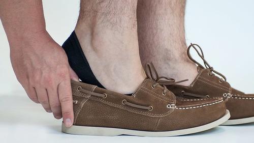 calcetines para mocasines hombre unitalla súper cómodos