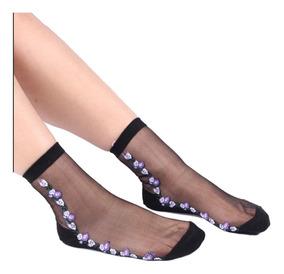 a4258eda8 Calcetines Transparentes Mujer - Ropa, Bolsas y Calzado en Mercado ...