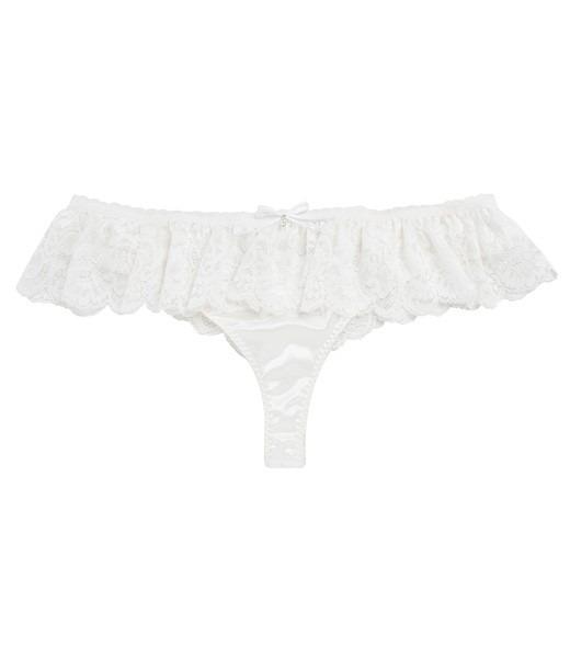 Calcinha Branca Para Noivas Hope - R  19 a7913f5c096