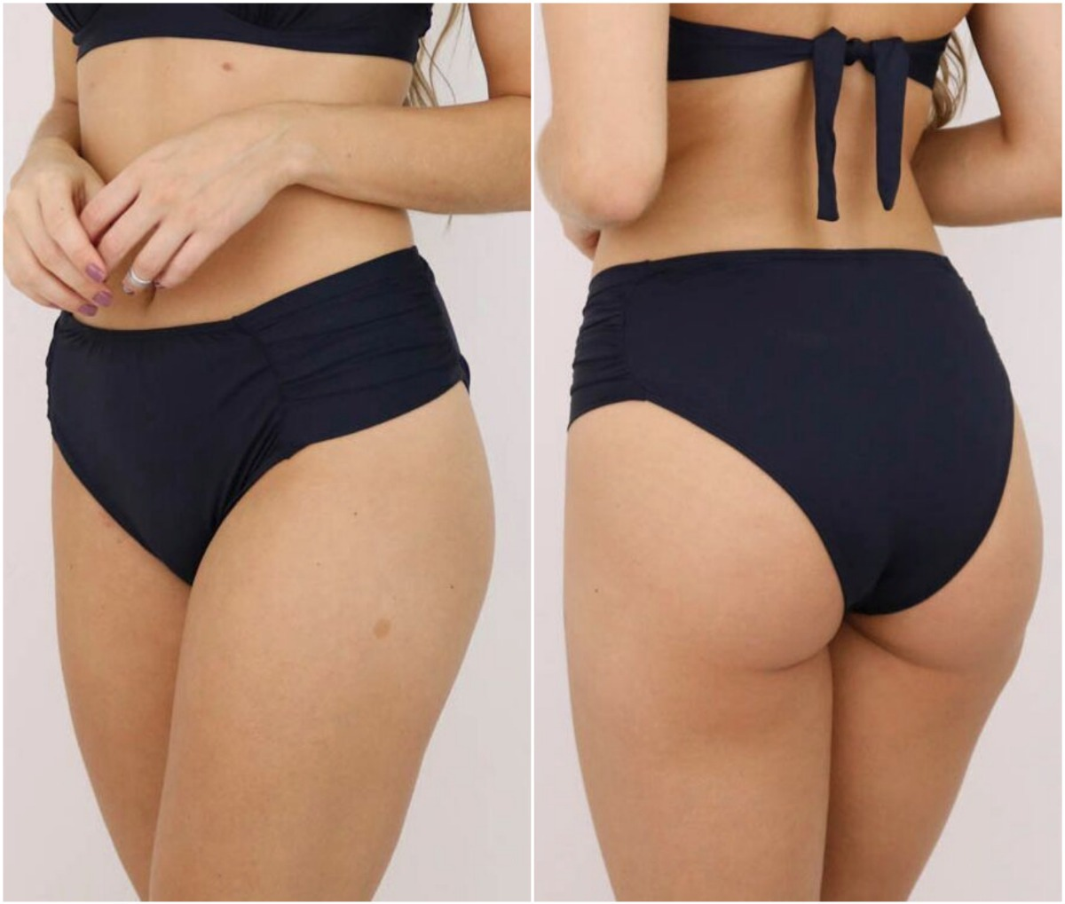 6fa4f4adc calcinha do biquíni plus size cintura alta sunkini b22. Carregando zoom.