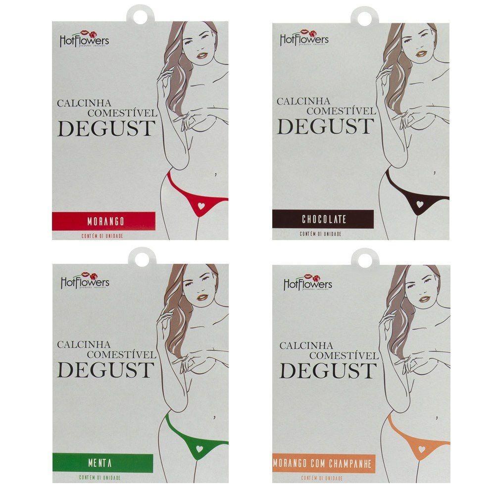 4ed20d3b7 calcinha lingerie comestível degust gourmet sabores variados. Carregando  zoom.