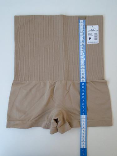 calcinha modeladora sem costura boxer alta calcinha redutora