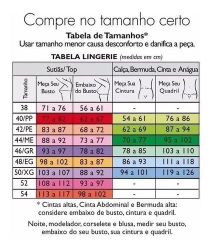 calcinha plus size nova clássica  / demillus