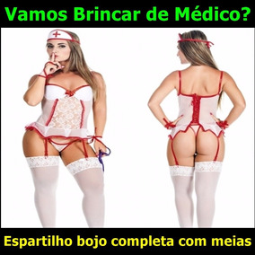 bb828cd4a3ed3 Espartilho Enfermeira Chefe - Moda Íntima e Lingerie no Mercado ...
