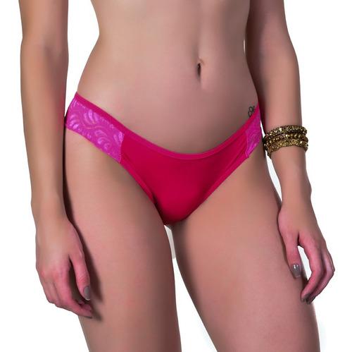 calcinhas em microfibra kit com 10 unidades lingerie ref:352