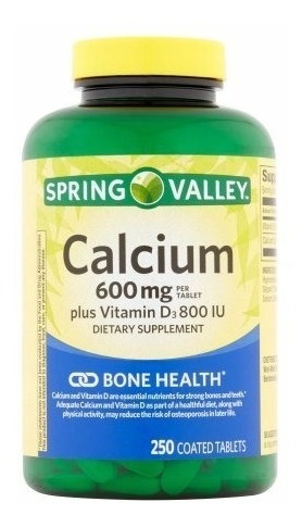 cálcio 600mg + vitamina d3 800 iu 250 capsula- promocao