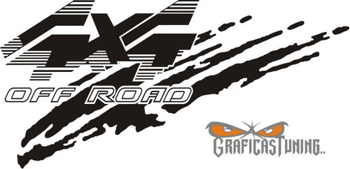 calco 4x4 off road  - ploteados calcomanias graficastuning