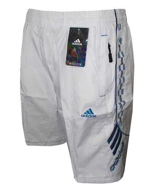 0efd2e9882 Calção adidas Branco E Azul Dd2 - R  70