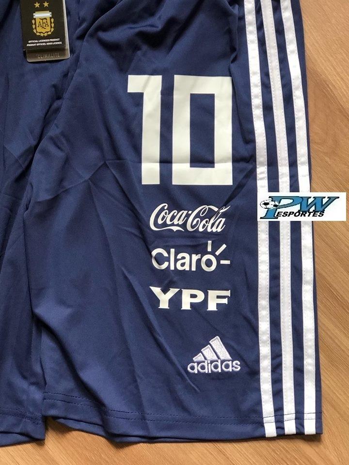 Calção adidas Climacool Da Seleção Argentina 2019  10 Messi - R  99 ... 96d6cf35188bc
