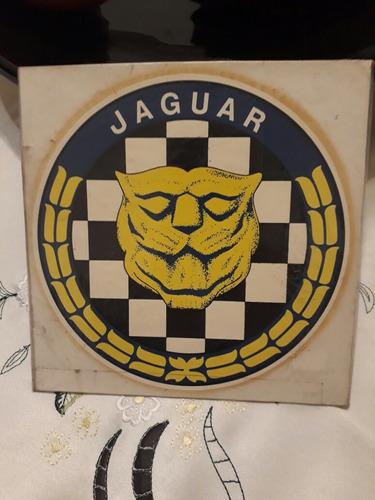 calco al agua..jaguar.